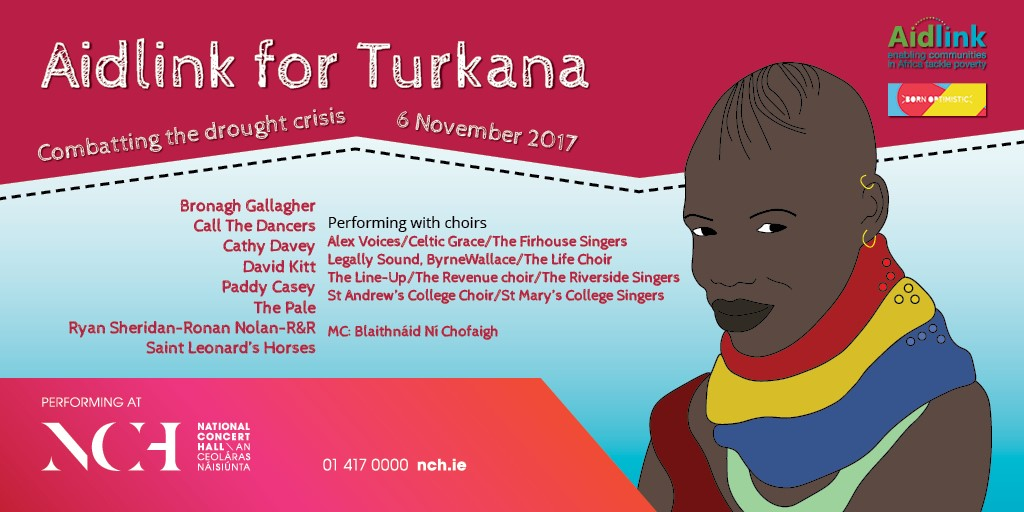 Aidlink for Turkana, The National Concert Hall, November 6th