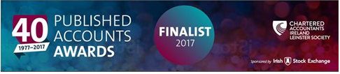 Aidlink Shortlisted for Published Accounts Awards 2107