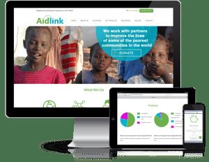 Aidlink Responsive Design