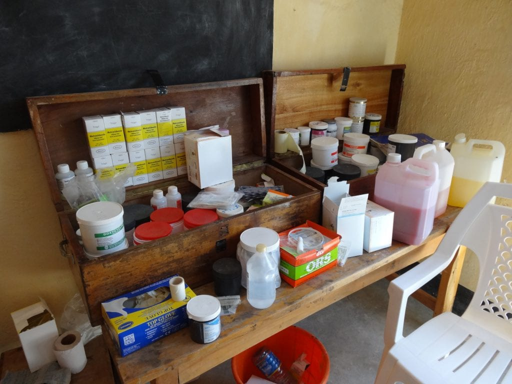 Diocese of Lodwar clinic medical supplies, Kenya January 2014 Taken by Aidlink Staff