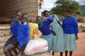 Leboo Primary School- March Food Distribution