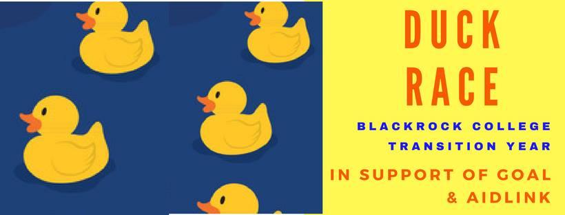 Blackrock College Duck Race in support of Aidlink & GOAL