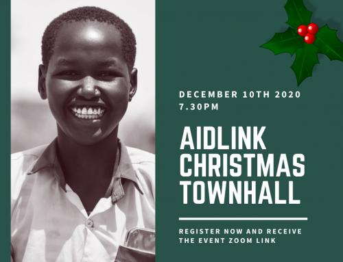 Join us for the Aidlink Christmas Town Hall Webinar